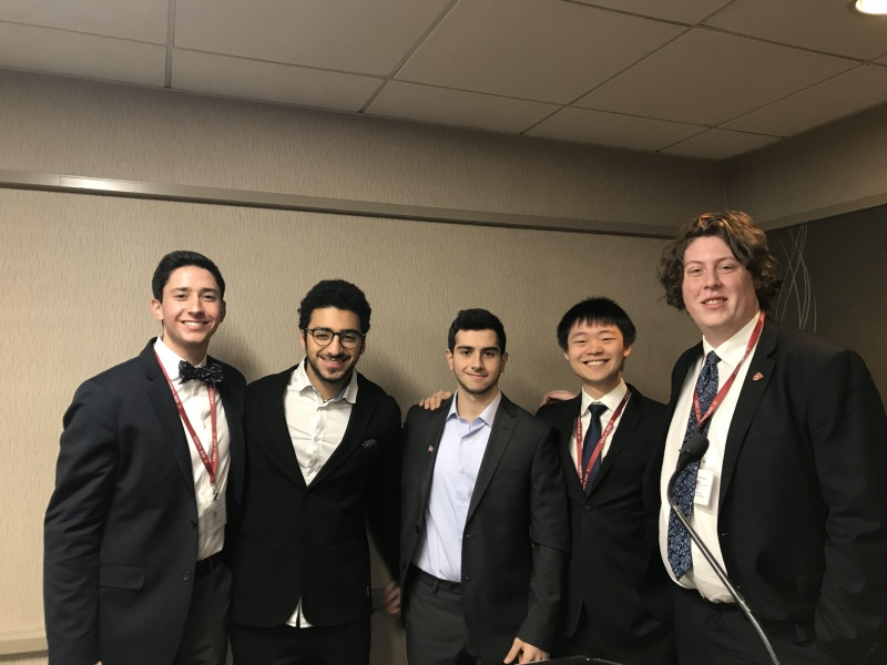 Harvard MUN : Prix de Distinction Diplomatique à Karl Elie Haddad